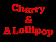 cherry & a lollipop