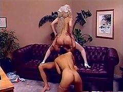 Crazy pornstars Heather Lere and Mona Lisa in fabulous blonde, brunette sex clip