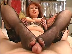 Horny amateur Stockings, MILFs porn video