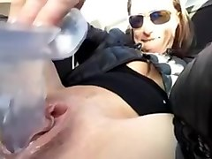 Amateur milf dildo parking