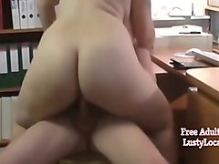 Naughty Bbw Wife With Big Saggy Tits Getting A Raise