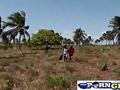 Foreign Group Sex Outdoors