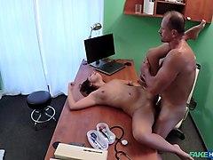 Horny pornstar Abella Anderson in Hottest Medical, Voyeur xxx movie