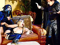 Zoey Monroe & Michael Vegas in Trick And Treat - Brazzers