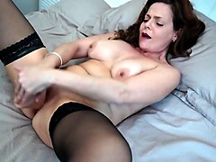 naughty milf from uk loves hard sex