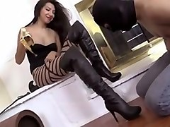 femdom boots worship mistress