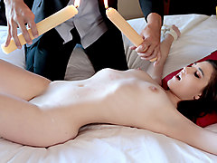 Jenna Reid in The Wax Play Agenda - PunishTeens