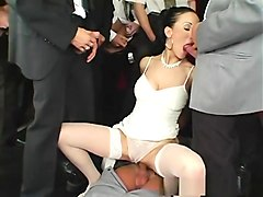 Incredible pornstar Victoria Rose in hottest fishnet, gangbang xxx video
