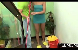 Neverseen bedroom romance in interracial hardcore on livecam