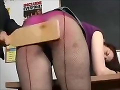 Amazing Amateur record with Lesbian, Spanking scenes