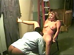 Redhead Fucks Black Cop In Locker Room