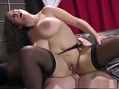 Crazy pornstar Denise Davies in amazing lingerie, brunette adult movie