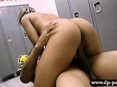 perky tits teen mariah fucked by her coach in locker room
