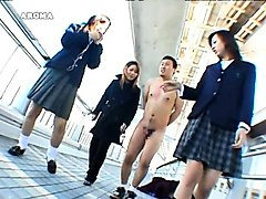 Mesmerizing Japanese girls dominating kinky amateur guys