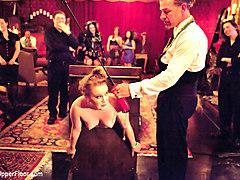 Jessie Cox & Lilla Katt & Nicki Blue & Sophie Monroe & Bella Rossi in Mardi Gras Party - TheUpperFloor