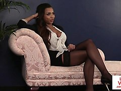 british ebony voyeur instructs jerkjob