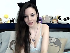 Kitty Kat Bars gets freaky for webcam show on SexyChatCam - Part 1