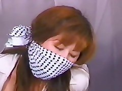 lingerie japanese bound and gagged