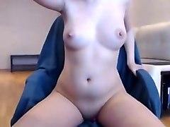 sexy babe big pert tits boobs hard nipples & sucking cock