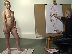 Nude Model Drawing English