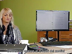 VIP4K. Blonde angel Katy Rose gladly passes dirty casting