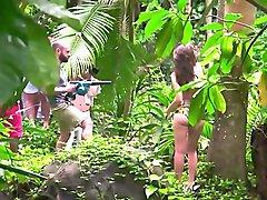Emily Ratajkowski Topless In The Jungle   Sports Illustrated Swimsuit