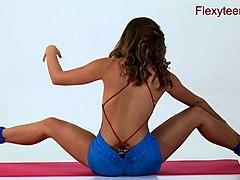 gymnastic, teen, show, teens, flexible