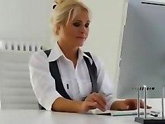 Kathy office milf