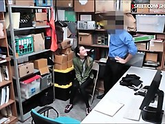 tight teen thief jade noir gets her pussy boned in lp office