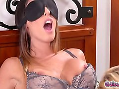 India Summer sets Emily Willis and Dava Foxx in hot fiery threesome