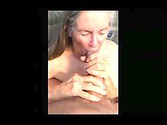 granny makes handjob for eat sperm 01
