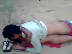 Village Girl Fucked Outdoor While Friends Are Recording