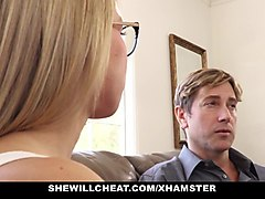 shewillcheat - sexy blonde girlfriend fucks bbc for cuckold