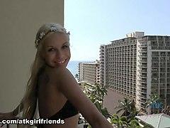 Carmen Caliente in Virtual Vacation Movie - AtkGirlfriends