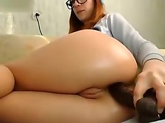 Crazy Homemade movie with Toys, Redhead scenes