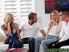 alina west and stepbro bang in front of horny parents