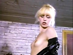lean and sexy blondie undresses and starts teasing a man