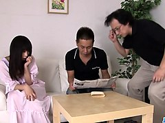 nozomi hazuki begs for a threesome  - more at javhd.net