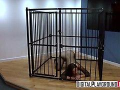 xxx porn video - danger cage