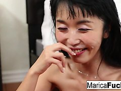marica hase gets dick slammed!!