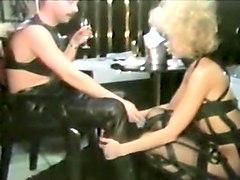 Incredible amateur Vintage, BDSM adult scene