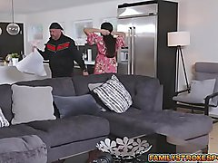 Sheena Ryder moans loudly with Codey Steeles cock on her milf cunt