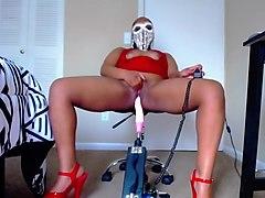 Karan Laya - Stripper Red - Fuck Machine