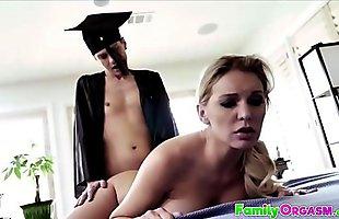 Bombshell MILF Kenzie Taylor Banged by Son - FamilyOrgasm.com