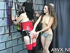 cute teen bondage porn episode in dilettante scenes