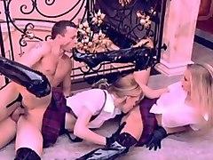 Fabulous pornstar Silvy Taylor in amazing threesomes, blonde xxx video