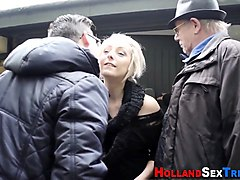 dutch whore gets rammed