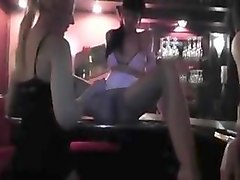 fisted, gape, gaping, lesbo, bar