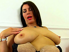mature milf, older, mature, british, nylons