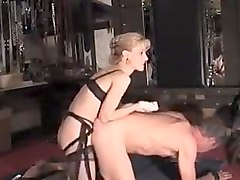 Incredible homemade Strapon, MILFs sex video